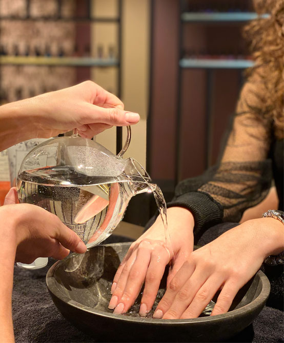 Manicure at Boutique Spa in Rotterdam